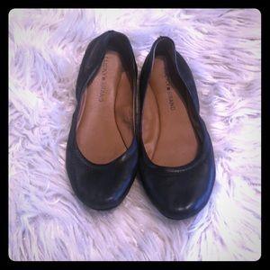 Lucky Brand Emmie black flats 8.5